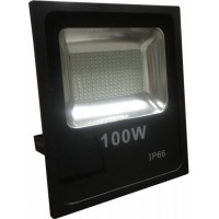 100w Buget Large LED Flood Light (Cool White 6000k)