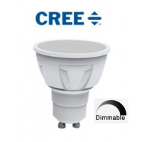 CREE LED 7w GU10 LED High Lumen Spot Light with Smooth Dimming (Warm White 4000k)