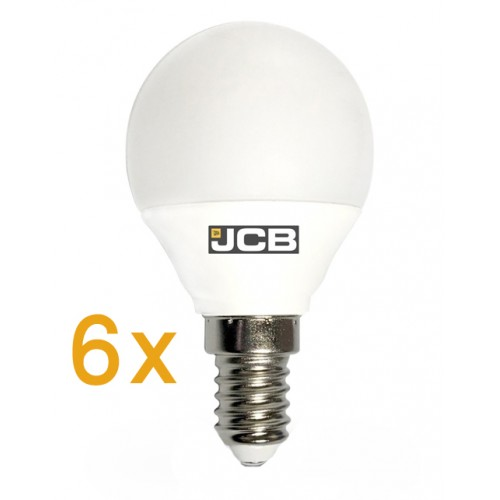 jcb 6w e14 led compact bayonet bulb warm white 3000k 6 pack. Black Bedroom Furniture Sets. Home Design Ideas