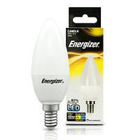 Energizer 3.4w E14 LED Candle Bulb (Warm White 2700k)