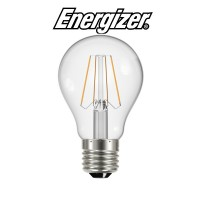 Energizer 4w E27 LED Filament Bulb GLS ES (Warm White 2700k)