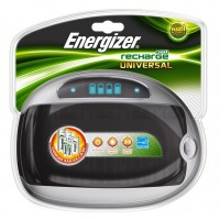 Energizer Universal Battery Charger with LCD display
