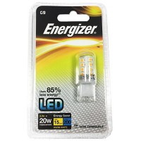 Energizer 2w G9 LED Capsule Bulb (Warm White 3000k) - 12 Pack