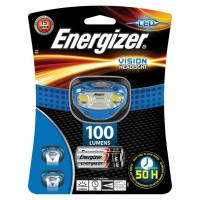 Energizer Vision LED Headlight with 3 x AAA Energizer Max Batteries