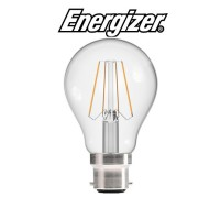 Energizer 4w B22 LED Filament Retro Bulb (Cozy Warm White 2700k)