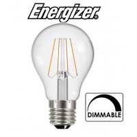 Energizer 7w E27 Dimmable LED Filament Bulb GLS ES (Warm White 2700k)