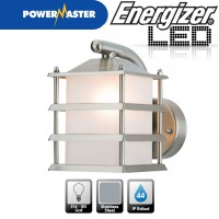 Outdoor Stainless Steel Mini Grill Lantern with Energizer LED 6w (Warm White 2700k)