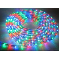 LED MultiColour Linkable Rope Light 10m (Mains Plugin)