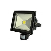 30w LED PIR Flood Light  motion sensor - (Cool White Light 6500k)