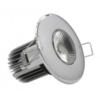 10w Fire Rated IP65 Dimmable LED Downlight (Natural White 4000k)