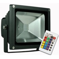 10w Colour Changing LED Flood Light