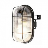 Outdoor Caged Wall Light Energizer LED 6W - warm white 2700K