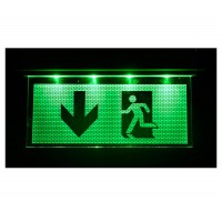 Emergency Exit 3w LED Sign