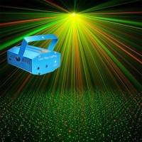 LED Party Laser lighting system with Holographic Light Show