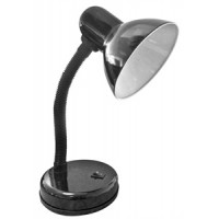 Black Bendy Desk Lamp with Bright white JCB 6w LED (Equal 40W)