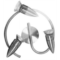 Chrome Triple Spiral Spotlights - Energizer LED Natural White 4000K