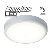 ENERGIZER LED Motion Sensor Light or Bathroom 17W IP44 (Natural White 4000k)