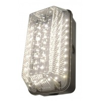 LED 10w Bulkhead Polycarbonate Security, Garden Wall Light IP65