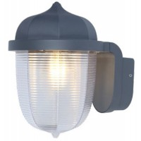 Outdoor 8 Sided Pavilion Lantern Wall Light With Super Bright 15w JCB LED