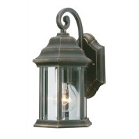 Outdoor Hanging Barrel Wall Light Antique LED Latern 6w Energizer (Warm White 2700k)